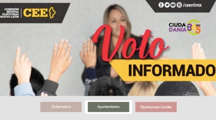 CEE habilita micrositio para un 'Voto Informado'