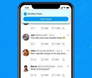Función de deshacer tuits de Twitter Blue