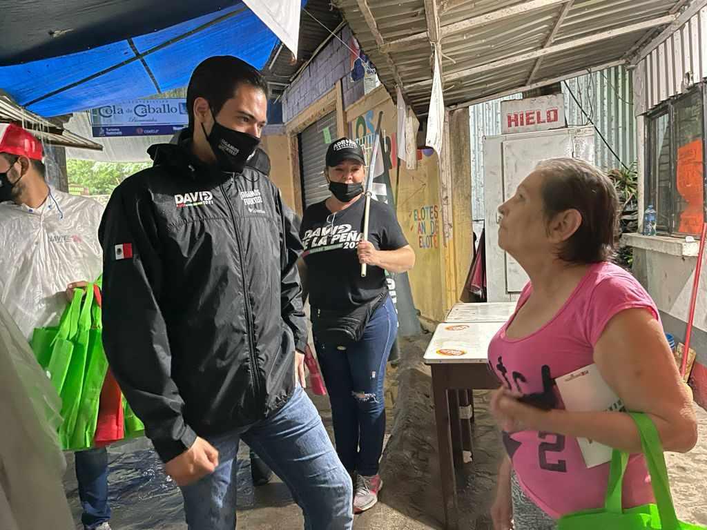 Invita David de la Peña a santiaguenses a salir votar (1)