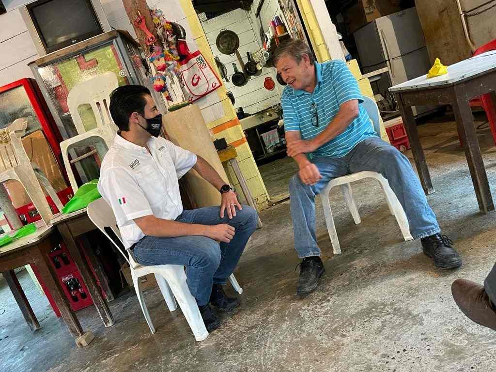 Invita David de la Peña a santiaguenses a salir votar (2)