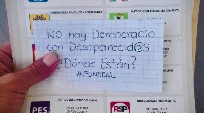 'No hay democracia con desaparecidos'_ exigen búsqueda en boletas