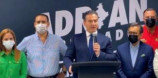 Reconoce Adrián de la Garza que votación no le favoreció