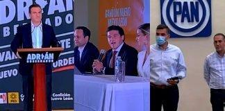 Se declaran ganadores Adrián de la Garza, Samuel García y Fernando Larrazabal