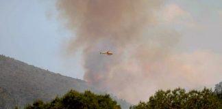 Se registra nuevo incendio forestal en Galeana