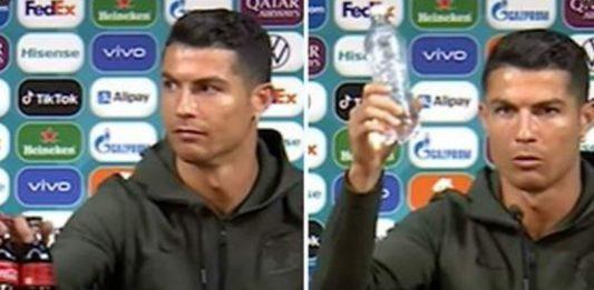 Cristiano Ronaldo hizo que Coca Cola perdiera 4 mil millones de dólares