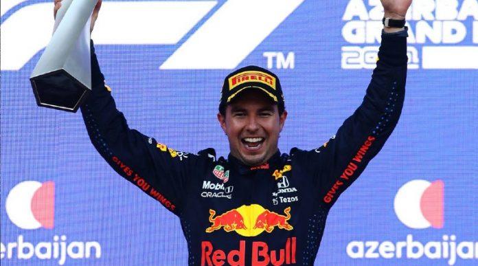 ¡'Checo' Pérez gana GP de Azerbaiyán!