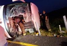 Volcadura en Carretera Reynosa-Monterrey deja 8 muertos